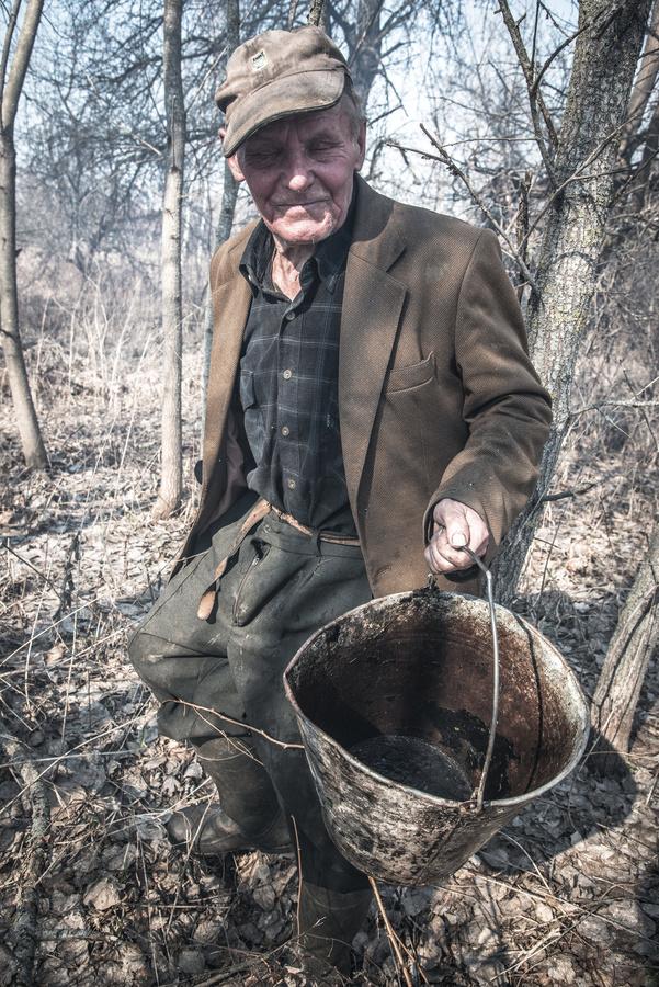 Černobylský děda Ivan