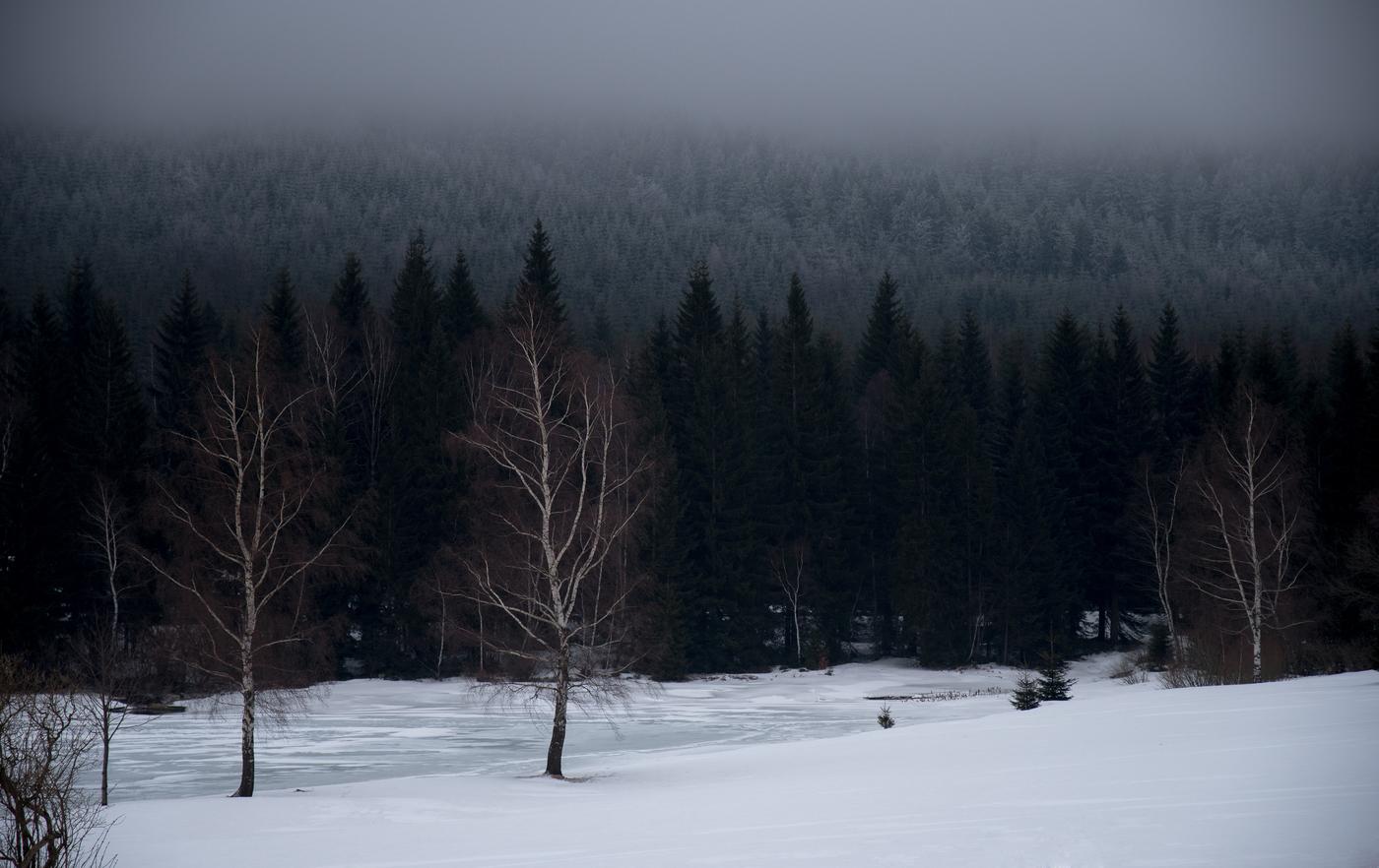 U přehrady Souš