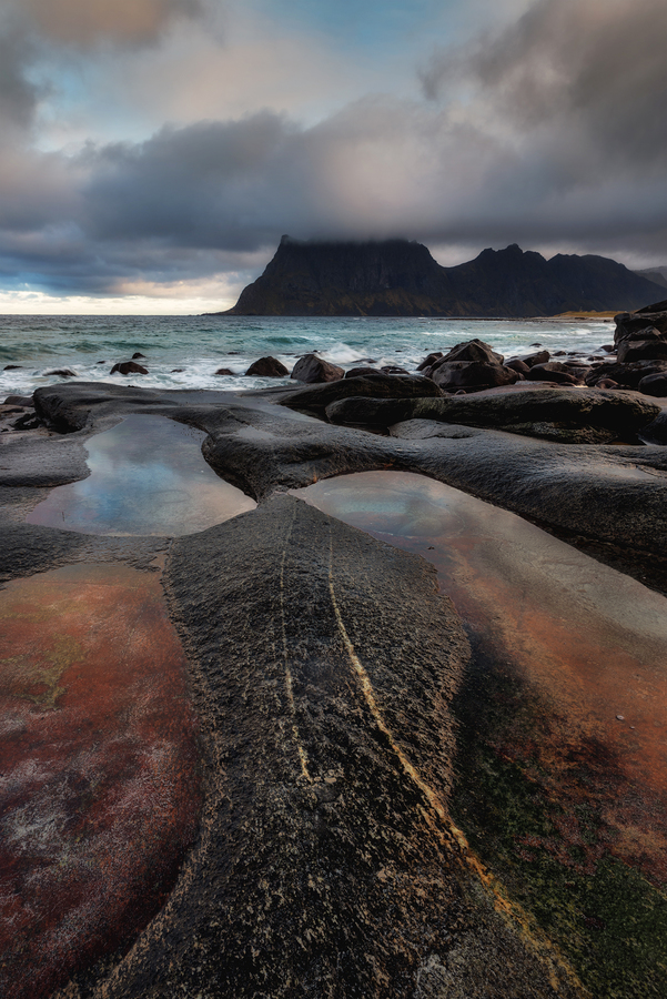 Uttakleiv Beach - Lofoten Islands -Norway