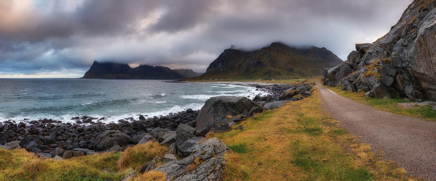 Uttakleiv Beach - Lofoten Islands - Norway