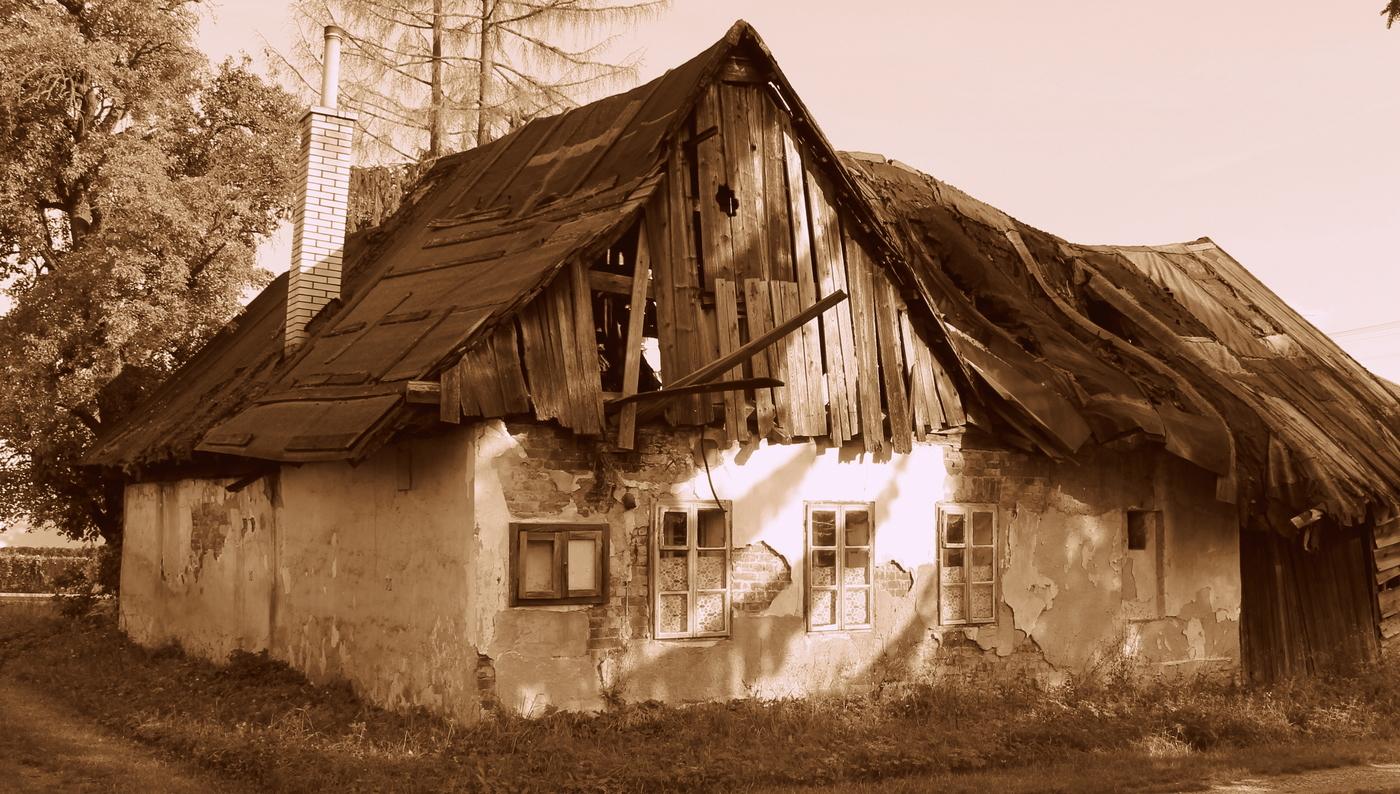 rekonstrukce začíná komínem