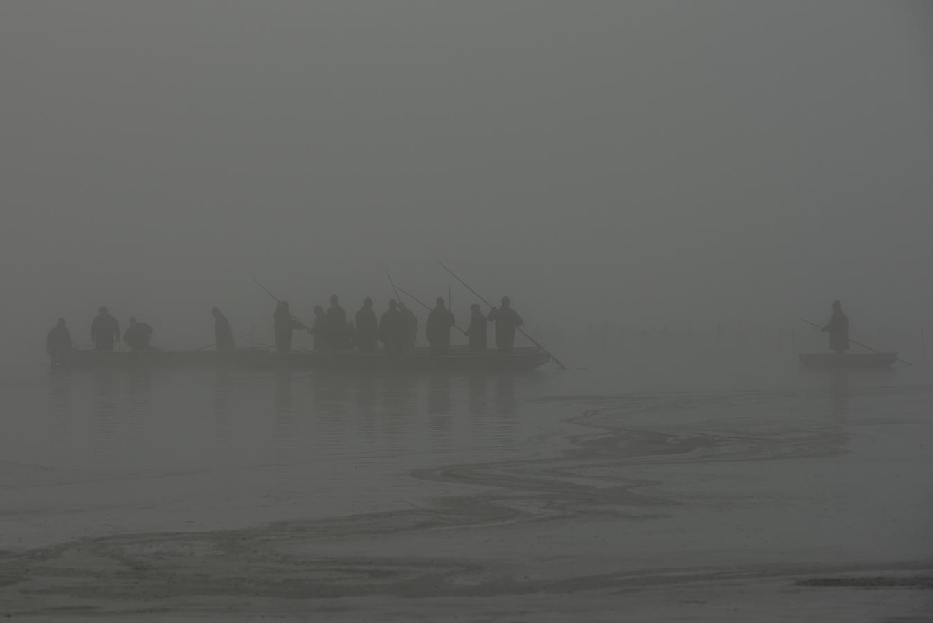 Rybáři v mlze