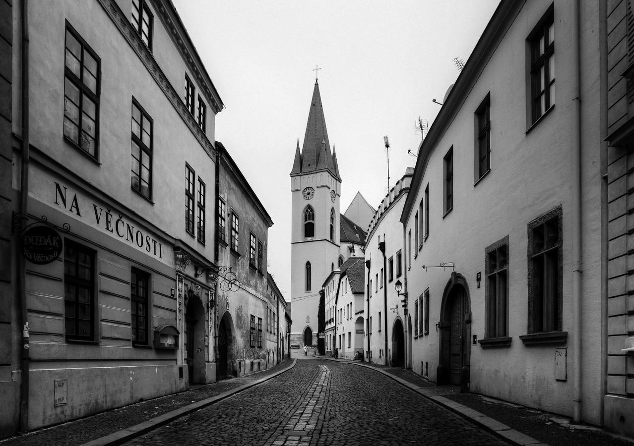 v uličkách starého města