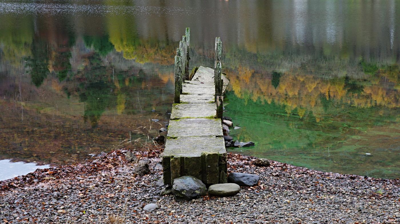 jesen v jazere
