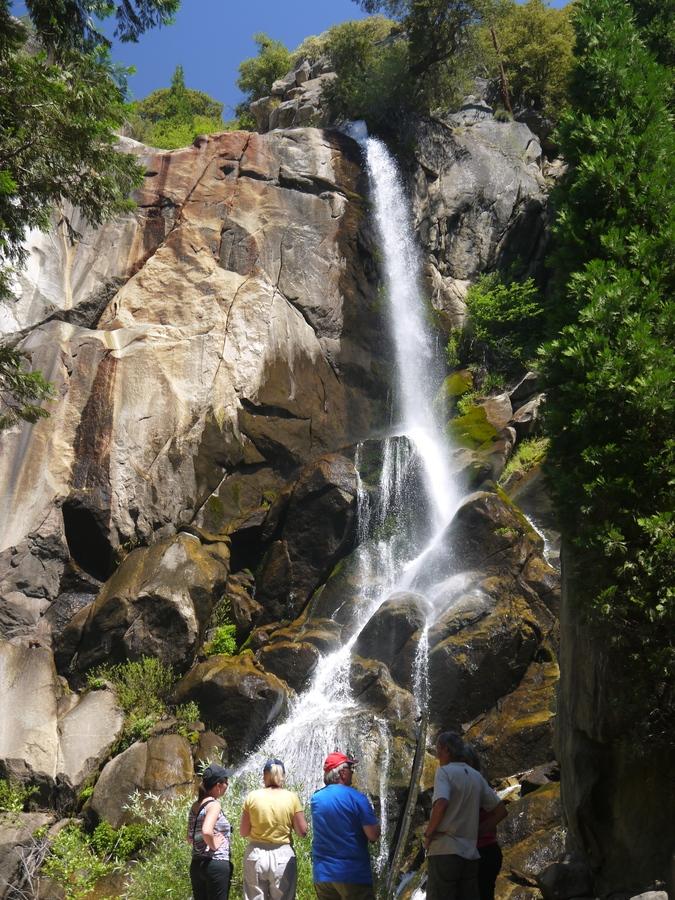 Vodopád v Yosemite