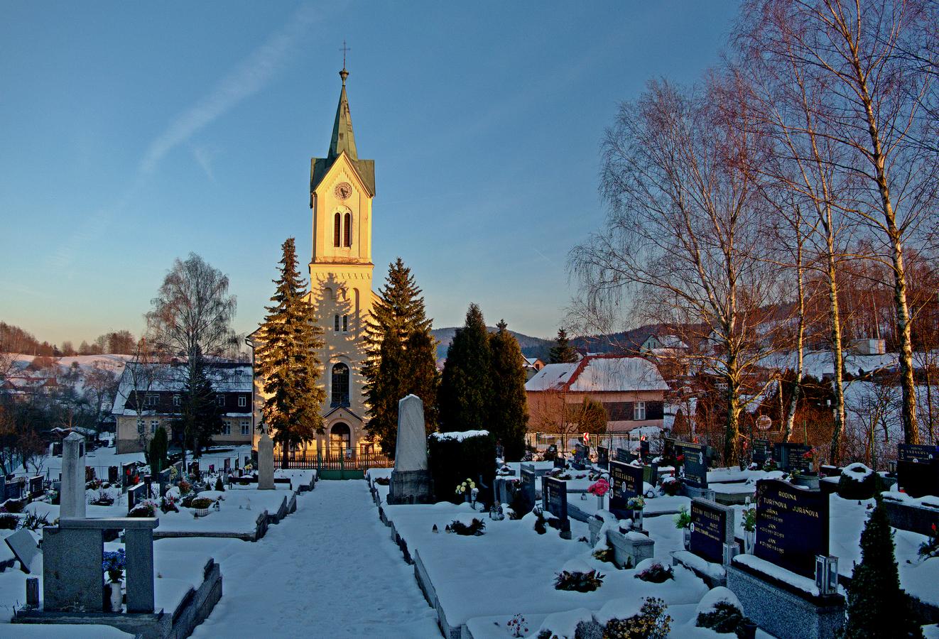 Pozděchov - evangelický kostel