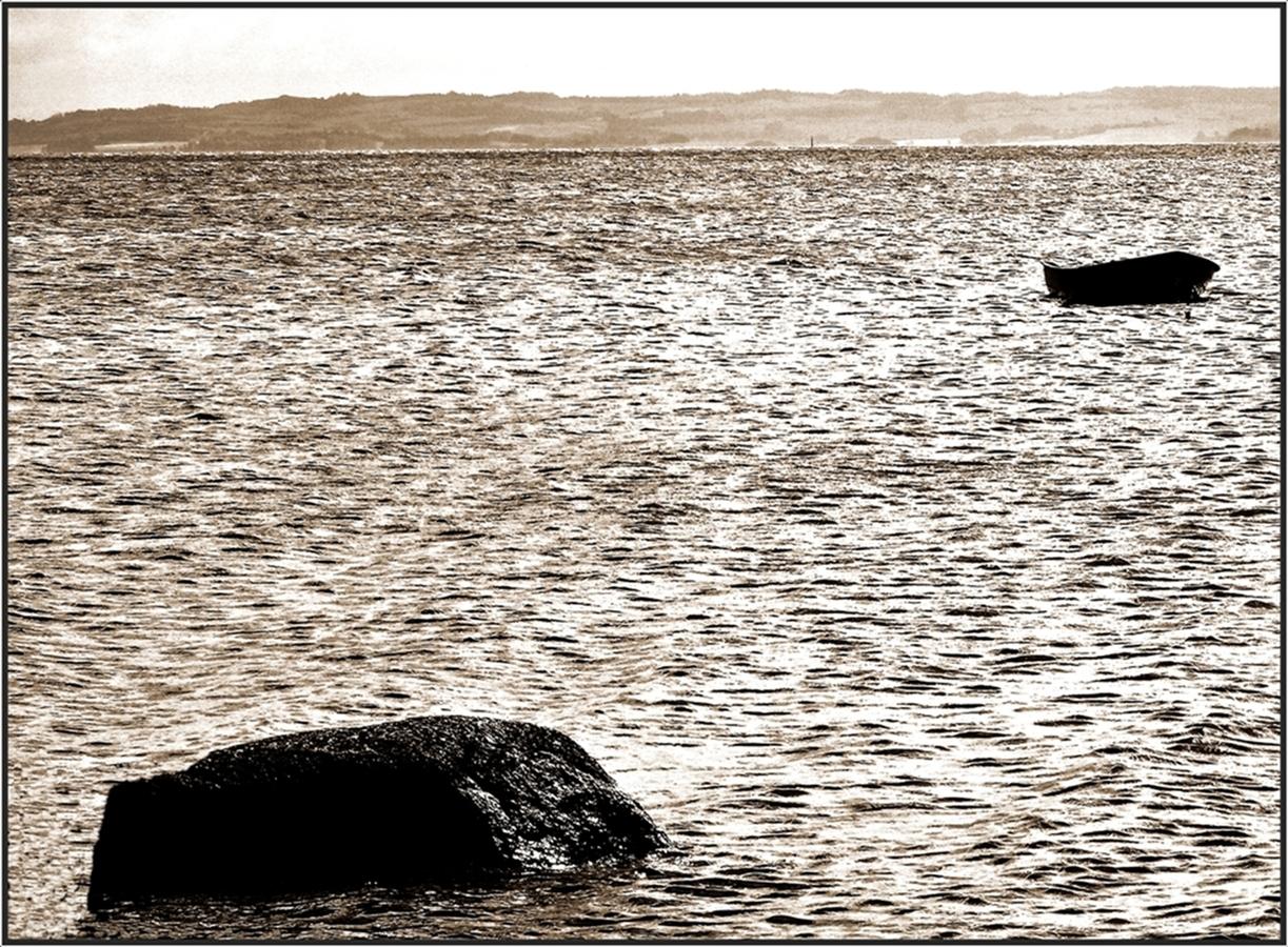 Dánské pobřeží.