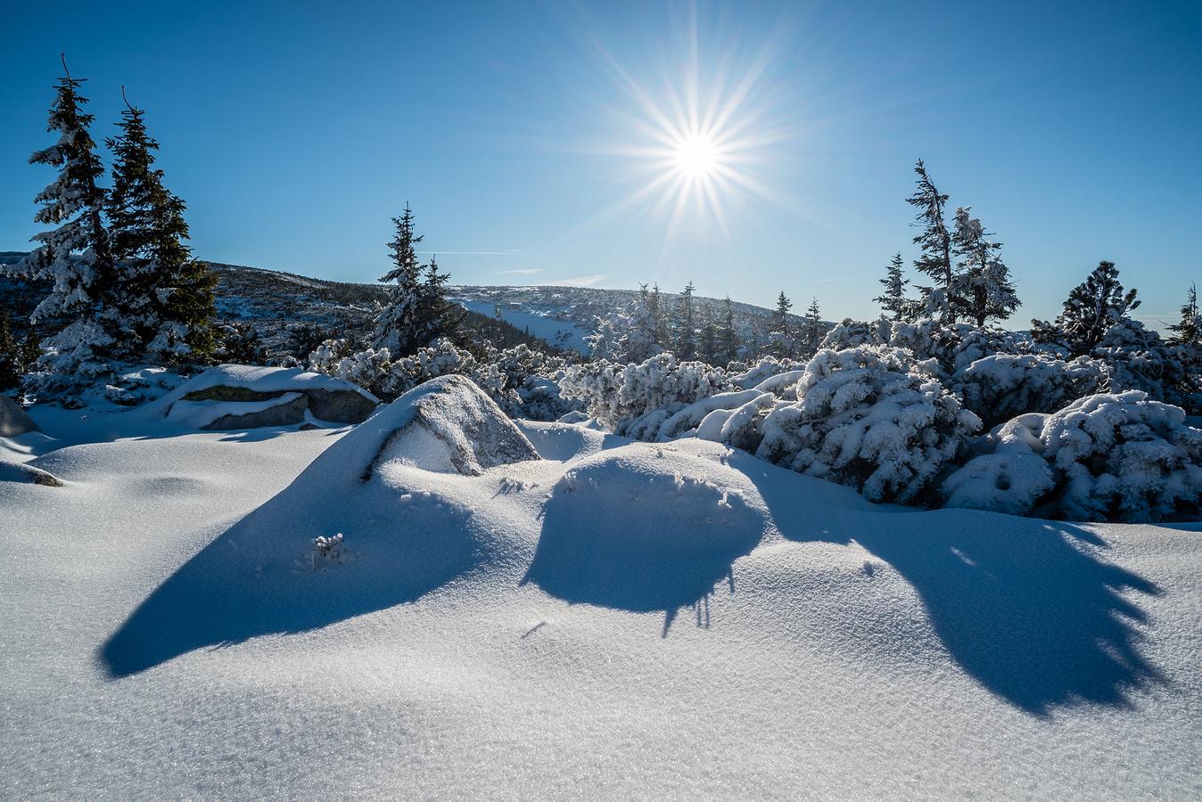 Zimní Krkonoše
