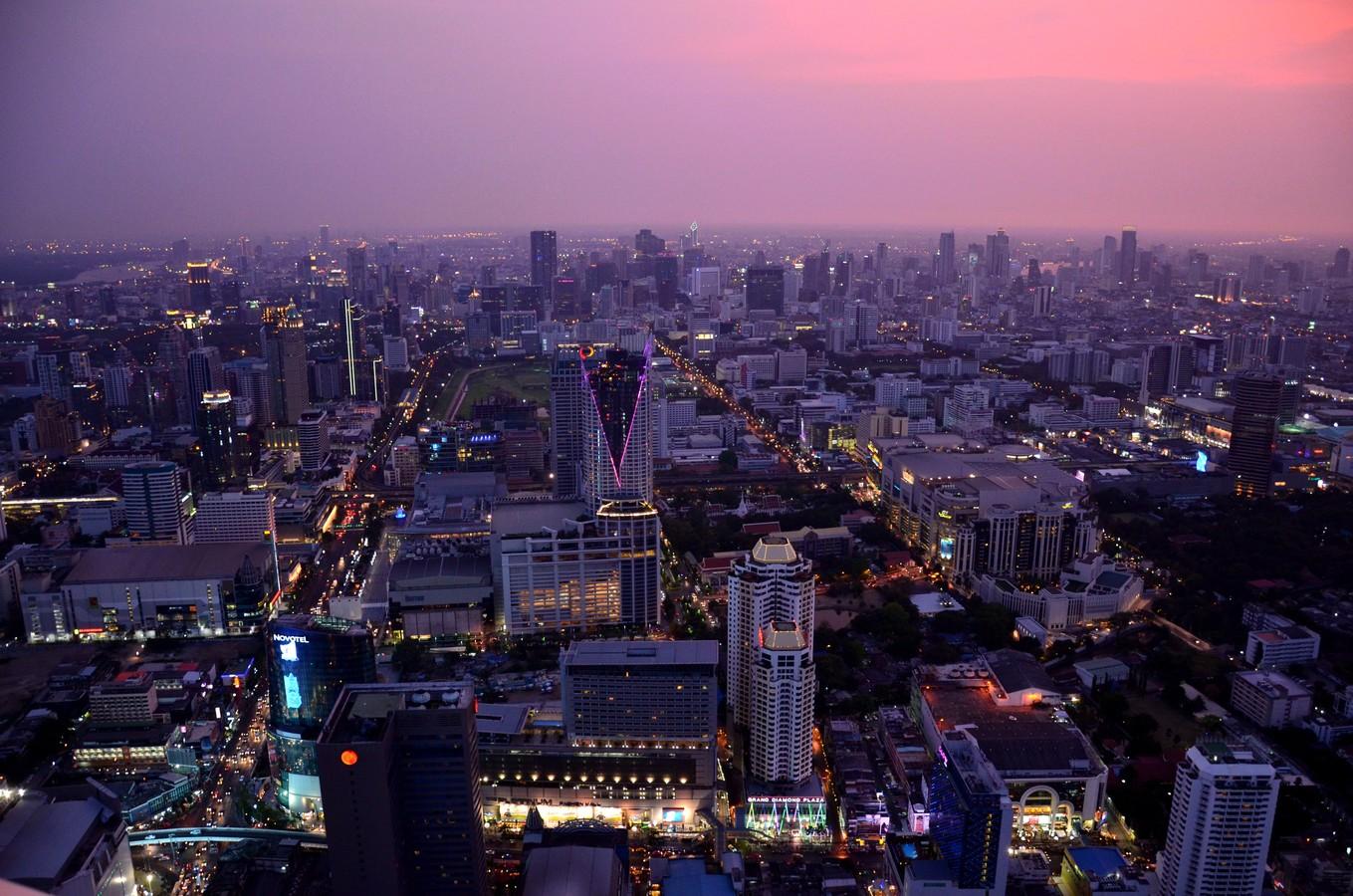 Night in Bangkok.... bude za chvilku...:-)