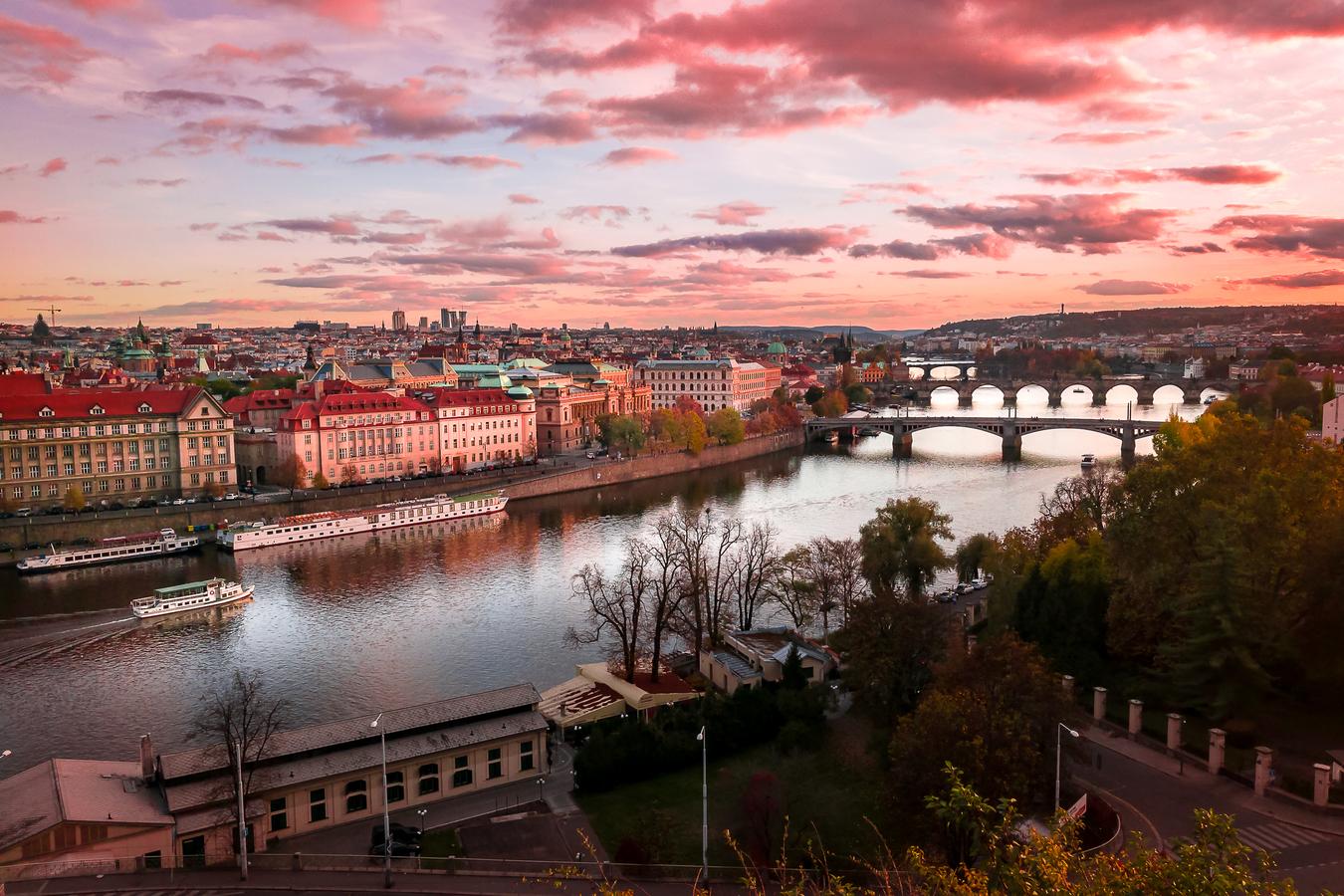 Růžová Praha