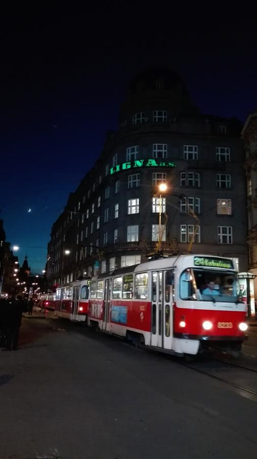 Večerní tramvaj