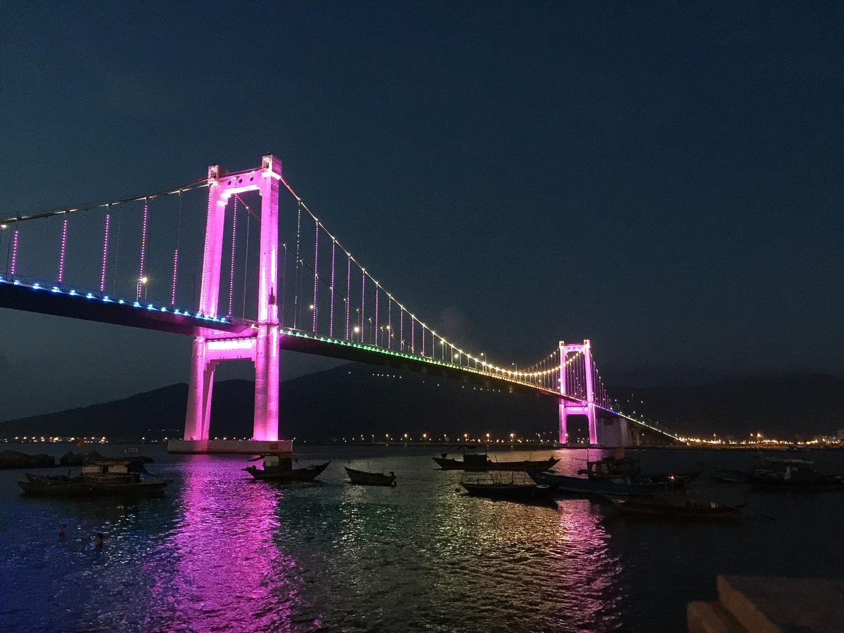 Da Nang, Vietnam, Han River Bridge