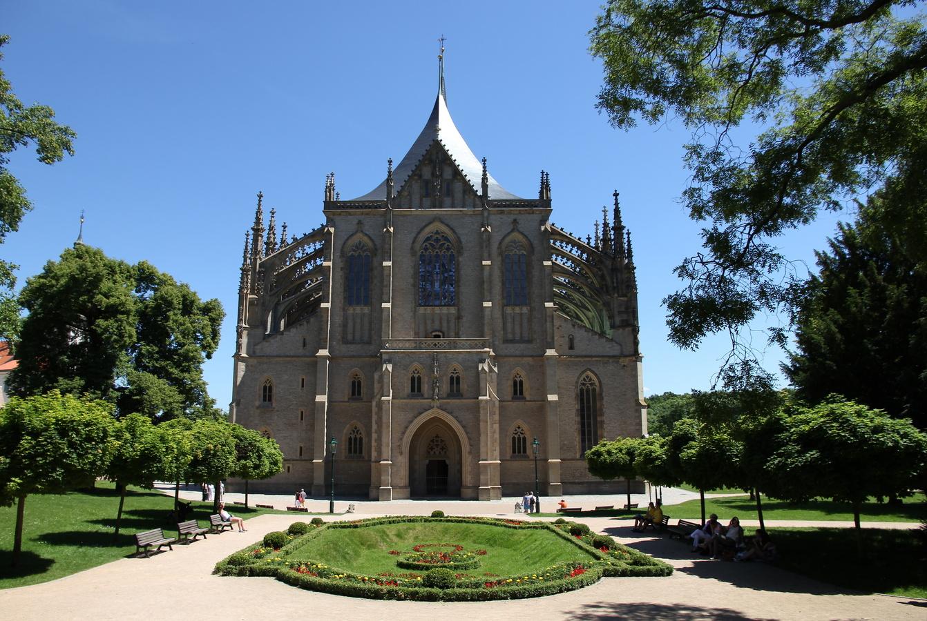 Chrám sv. Barbory v Kutné Hoře (UNESCO)