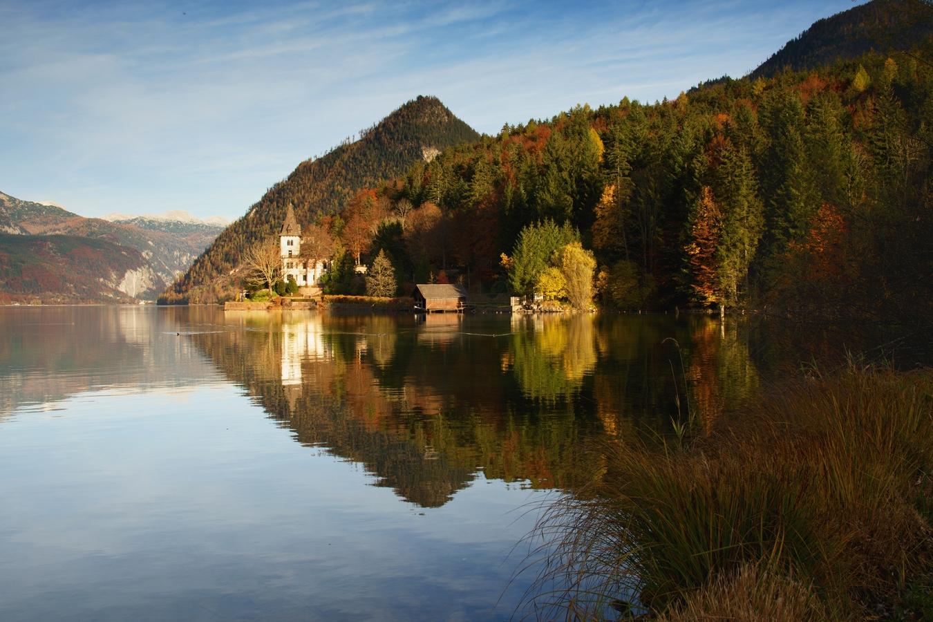 Horské jezero Grundlsee :-)