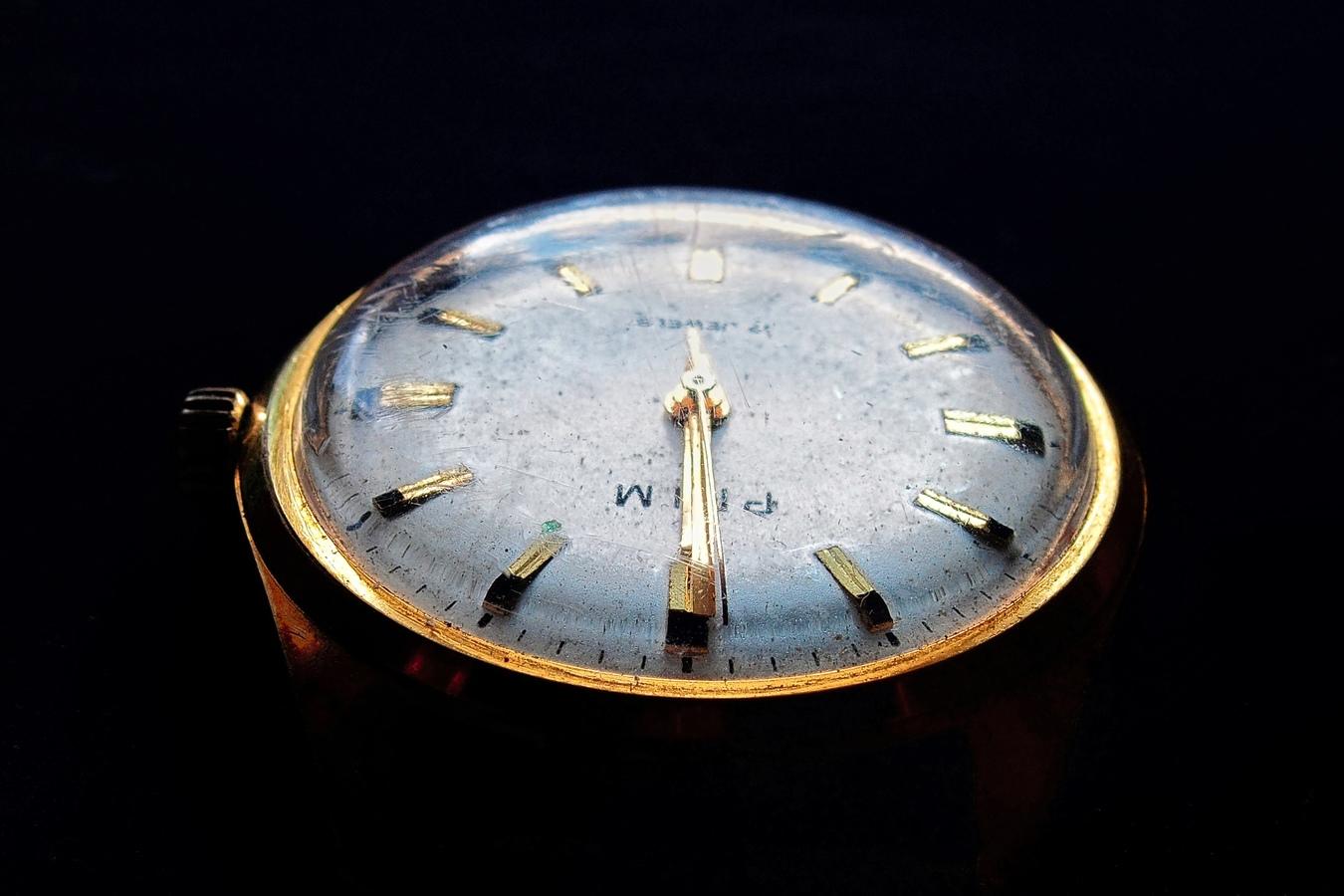 Mé první hodinky