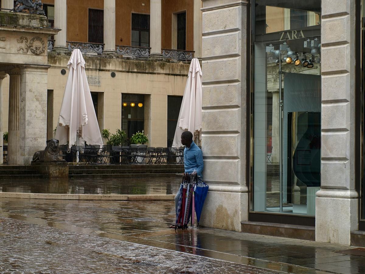 Obchodník s deštěm...