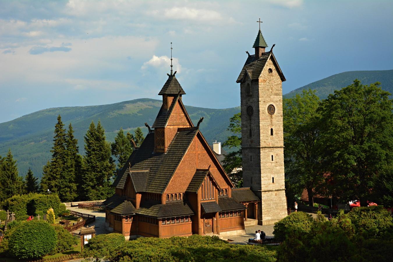 Kostelík Wang....Polsko