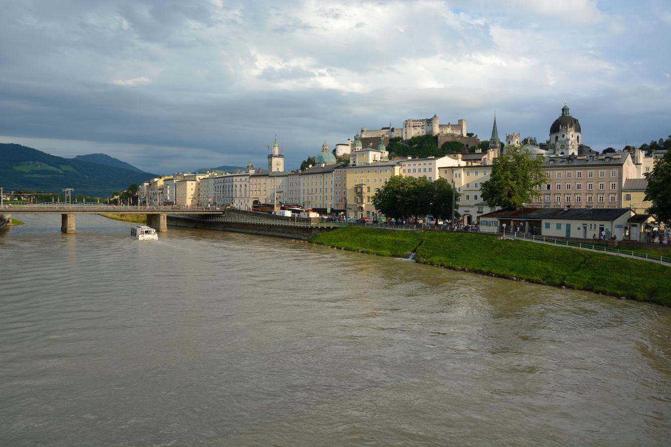 ... podvečerný Salzburg ...