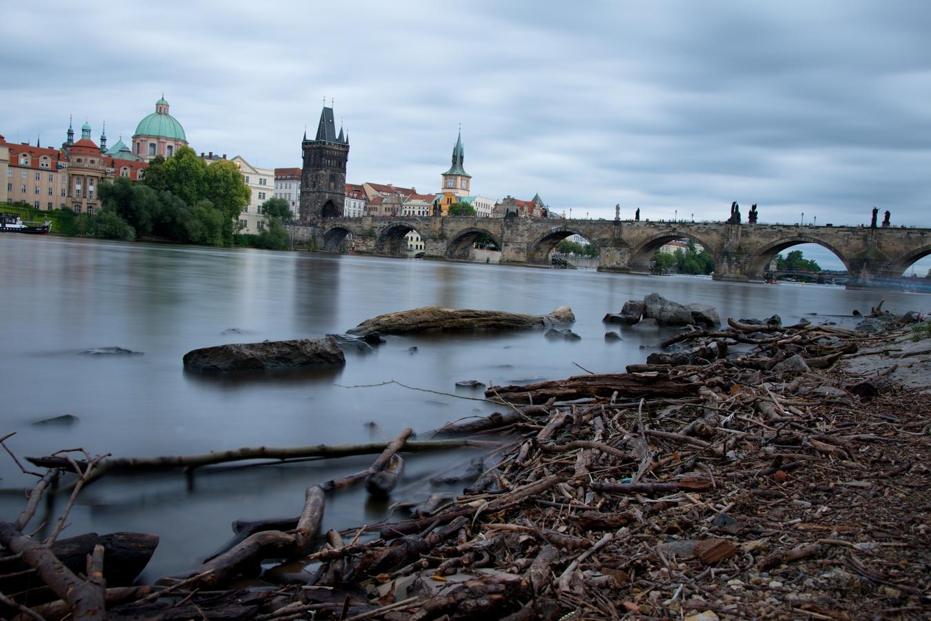 letní Praha