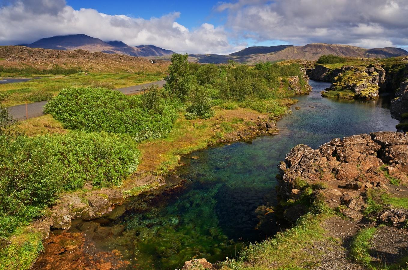 Þingvellir a jeho zlom