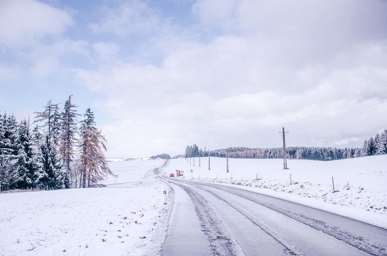 první a snad ne poslední sníh