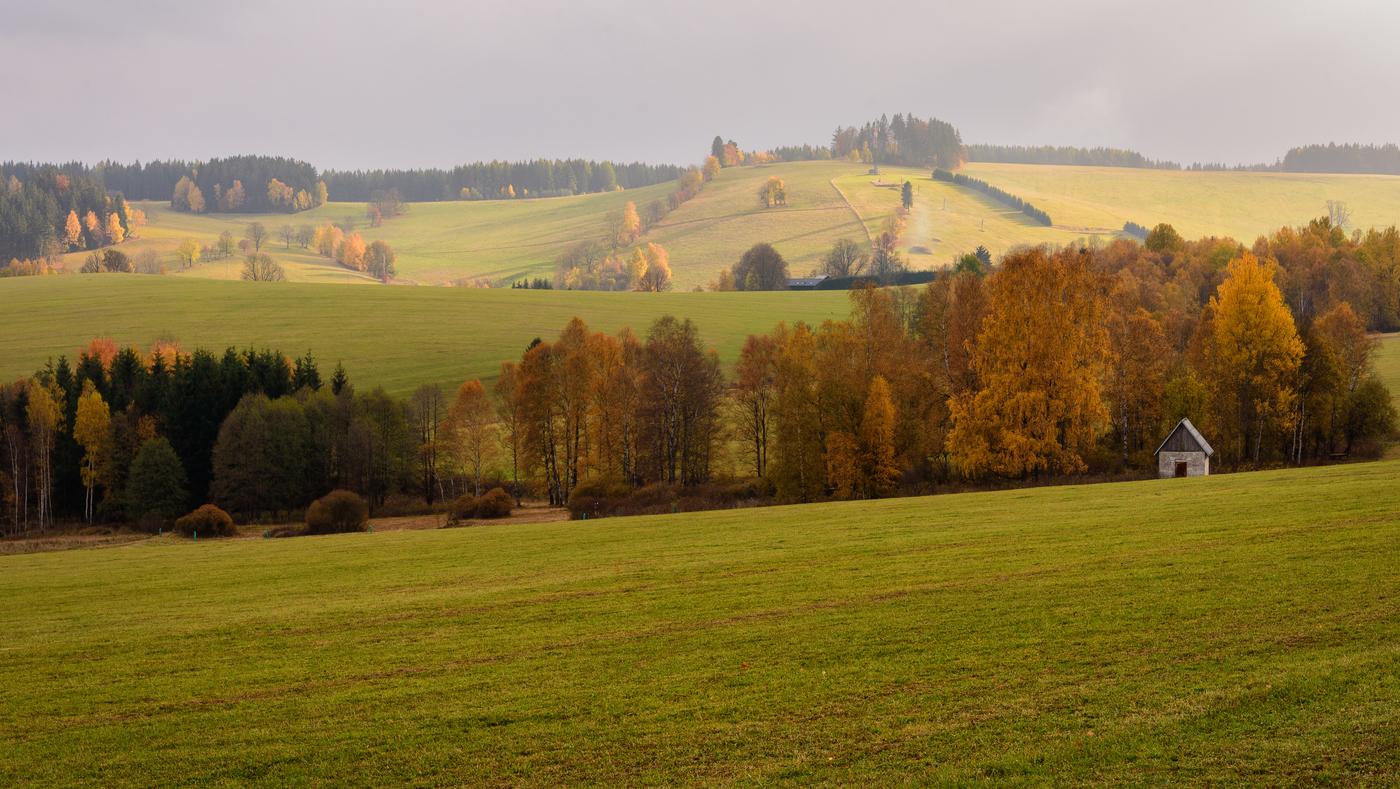 Podzim na venkově