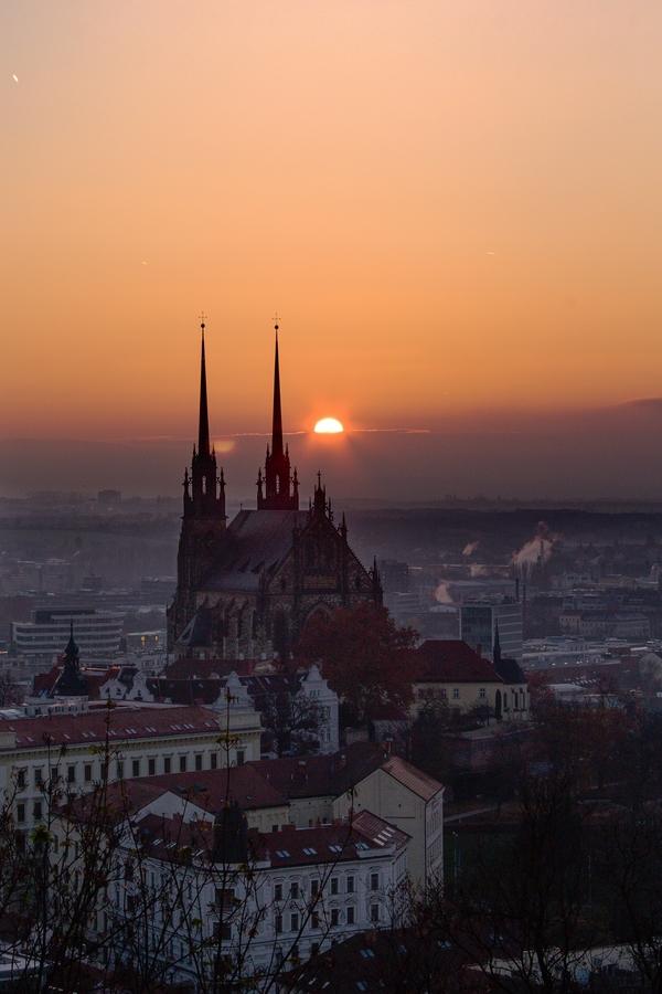 Východ v Brně