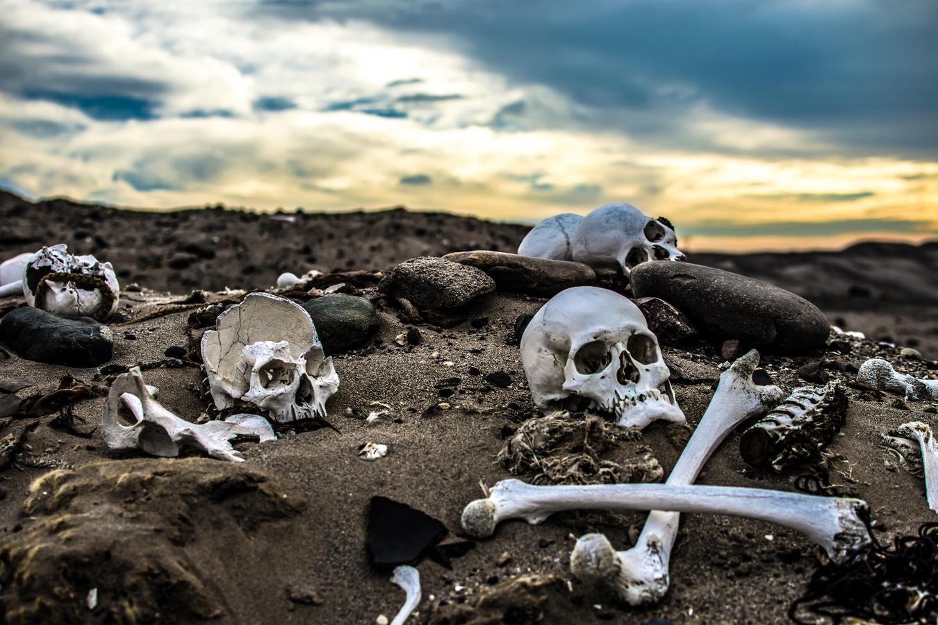 Pohřebiště v poušti