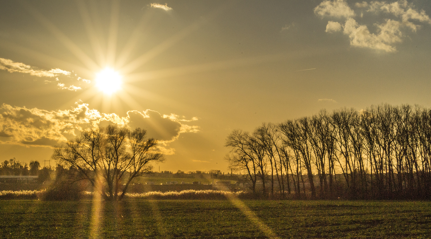 Paprsky slunce