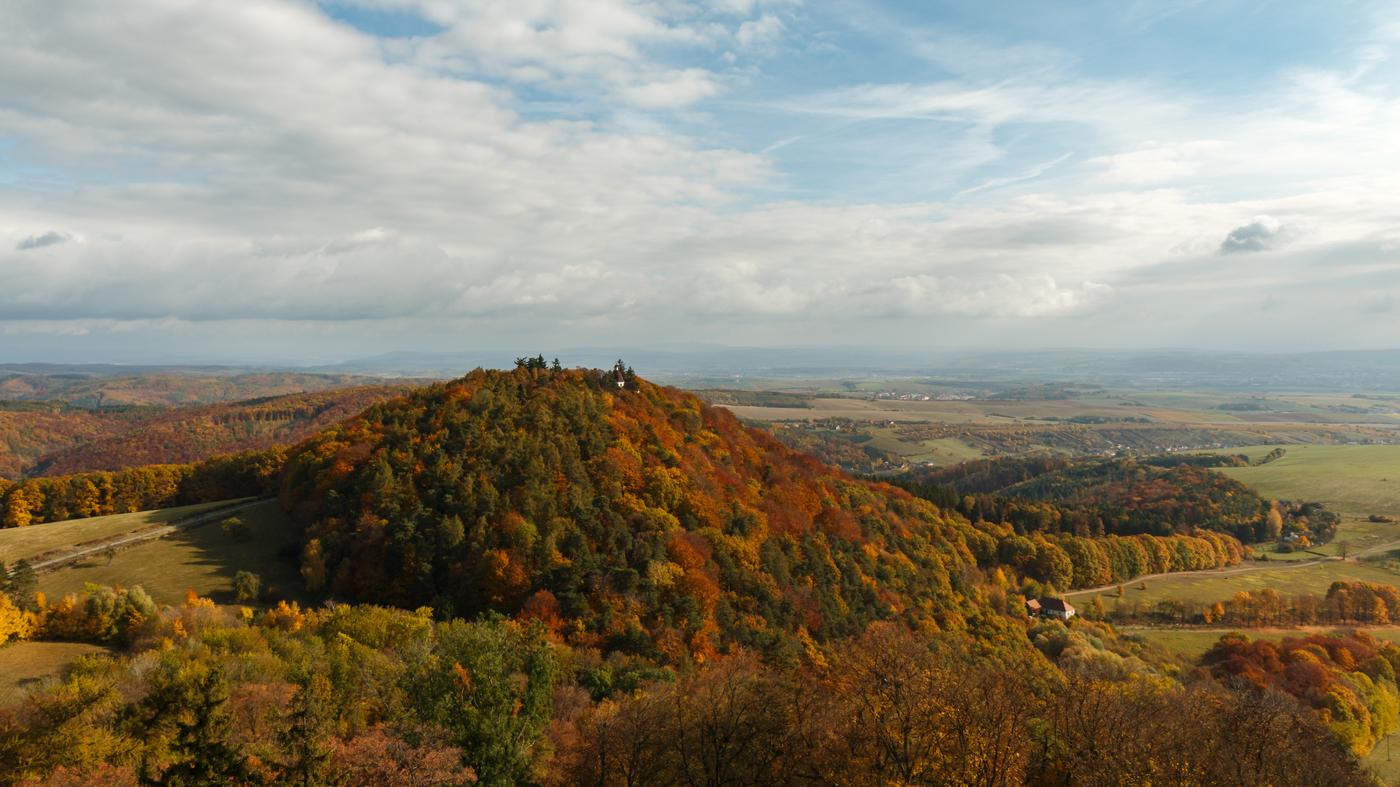 Pohled z Buchlova