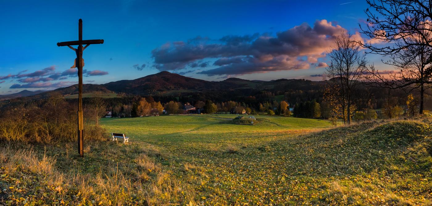podzim na Křížovém vrchu