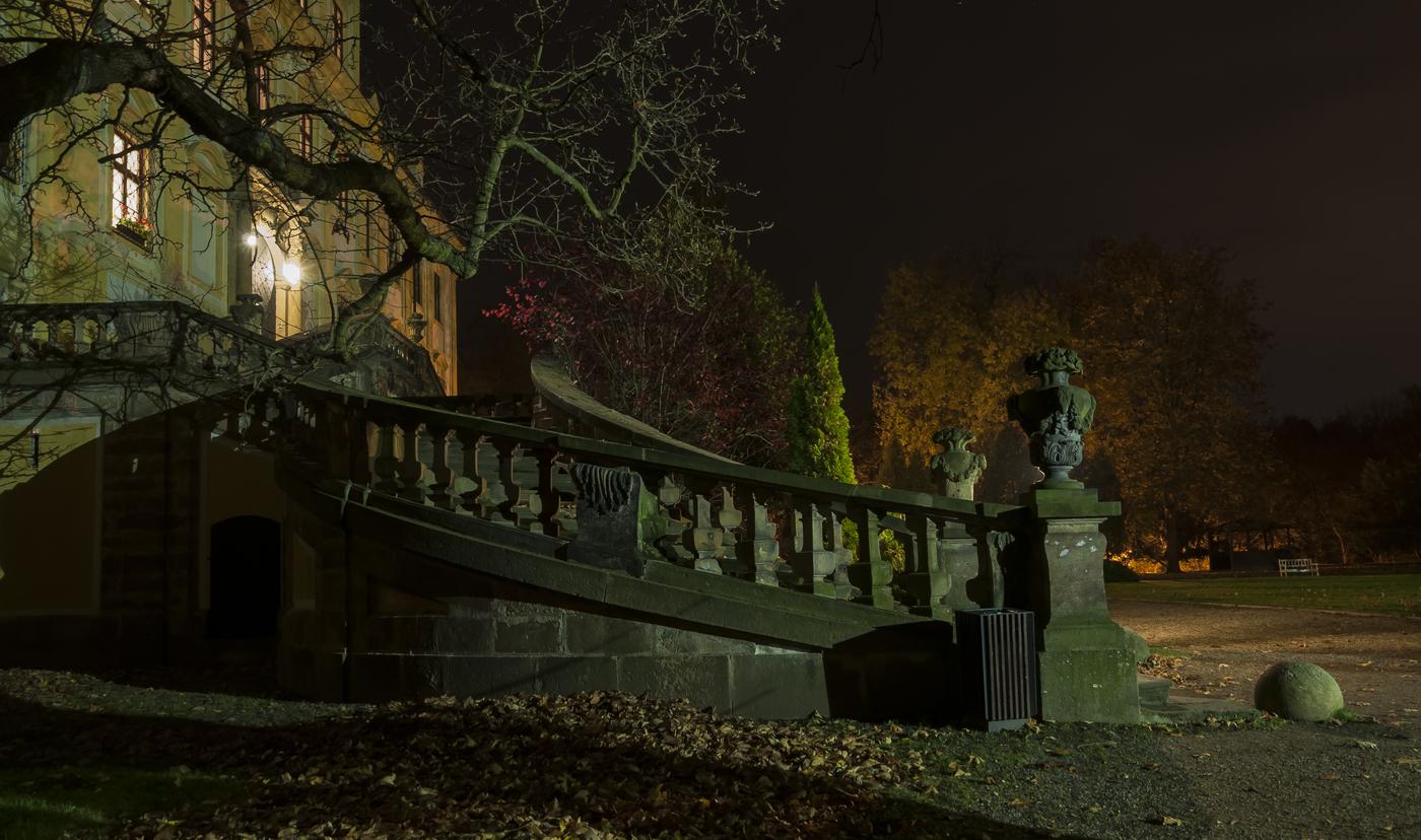 Noc na zámku