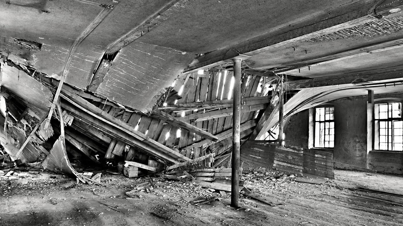 Bývalá architektura-jak fotka z Titaniku :-)