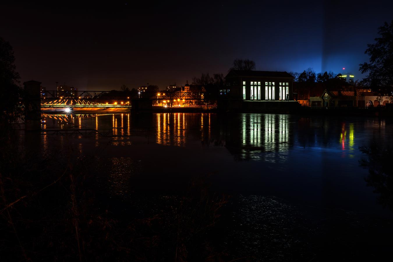 vodní elektrárna České Budějovice