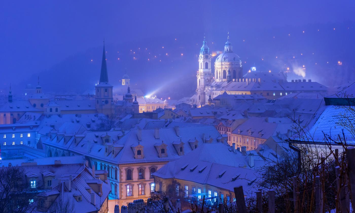 sen o zimě