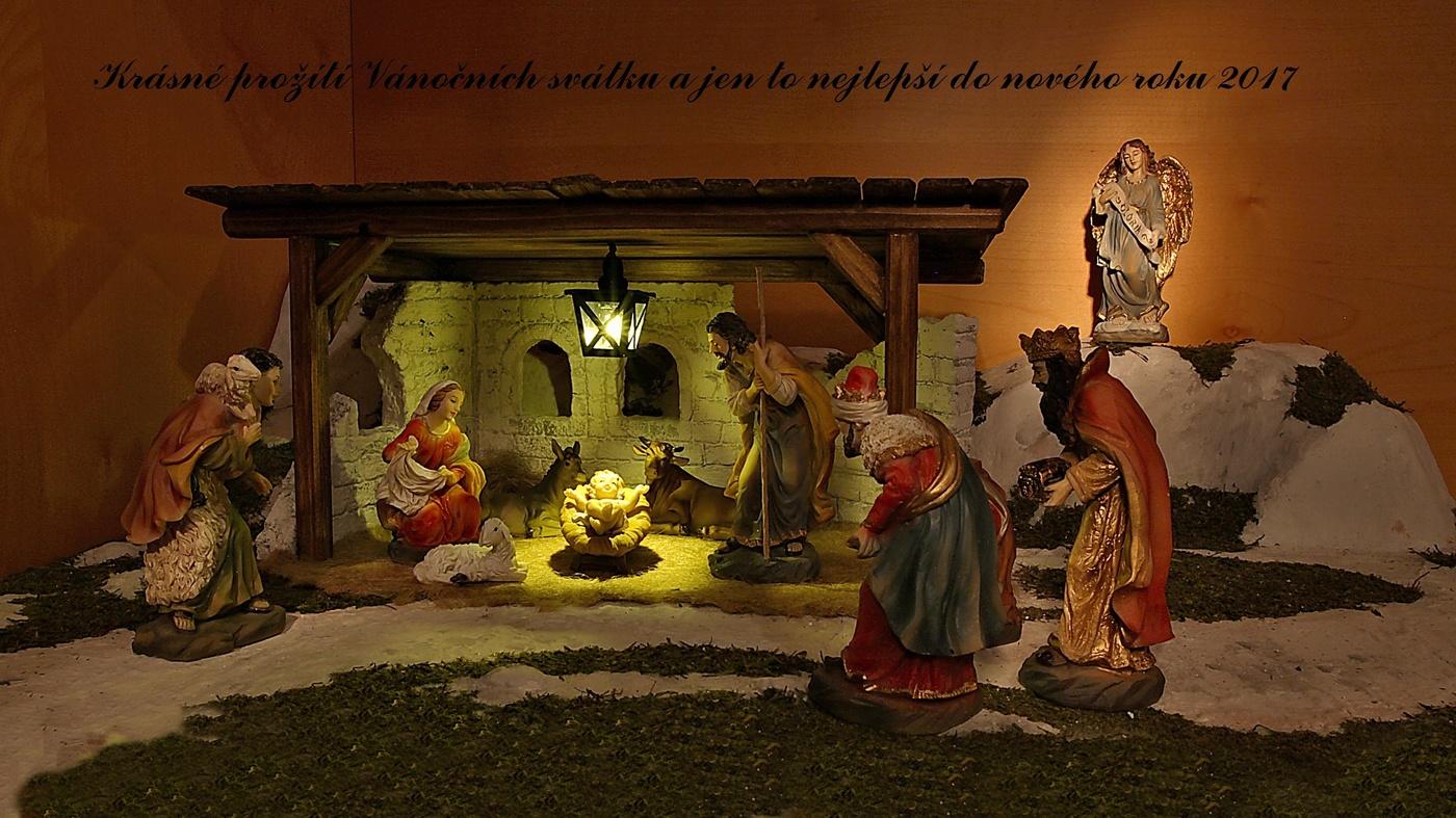 Vánoční přání všem.