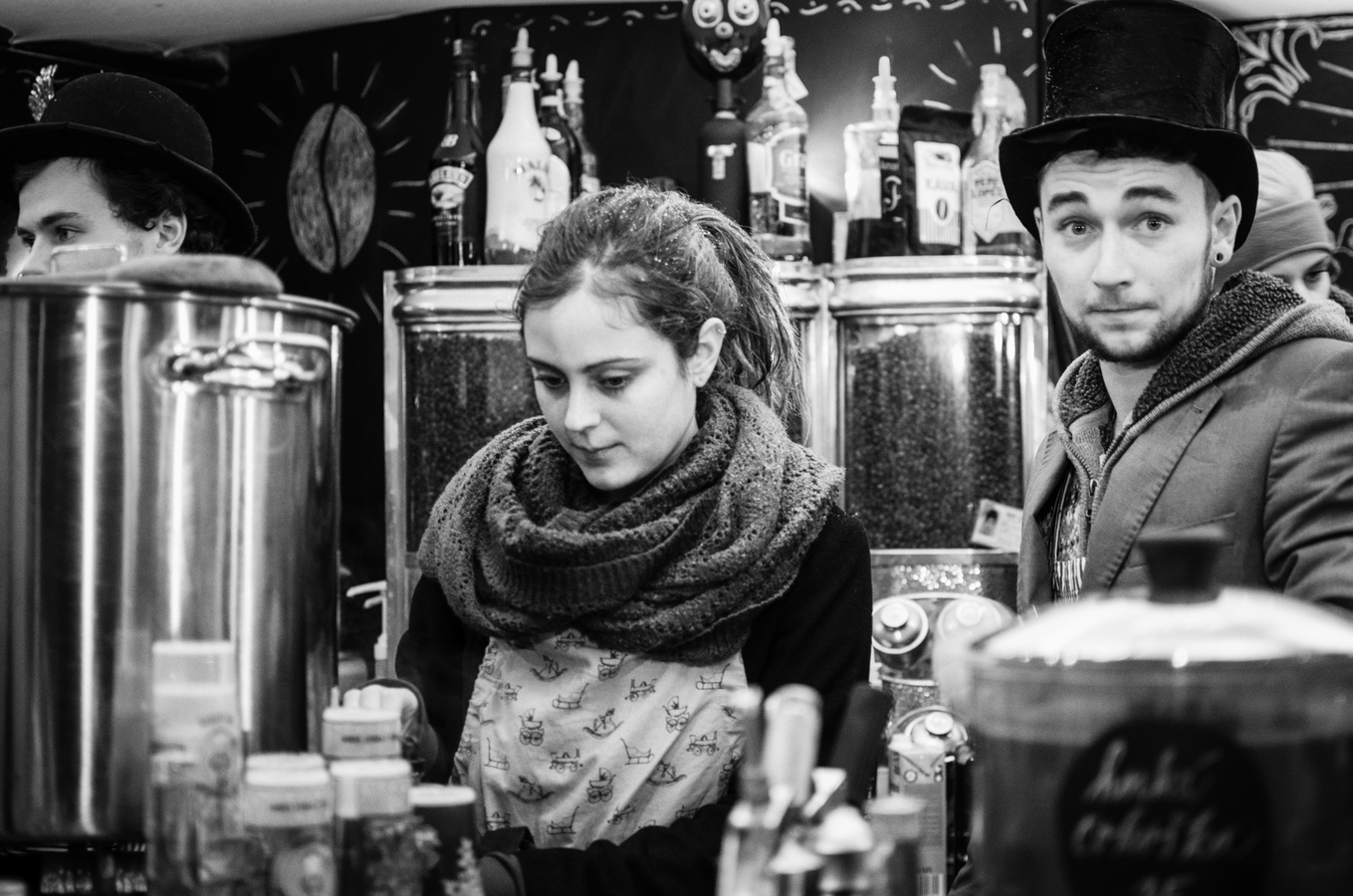 Kavárna na Náměstí Svobody