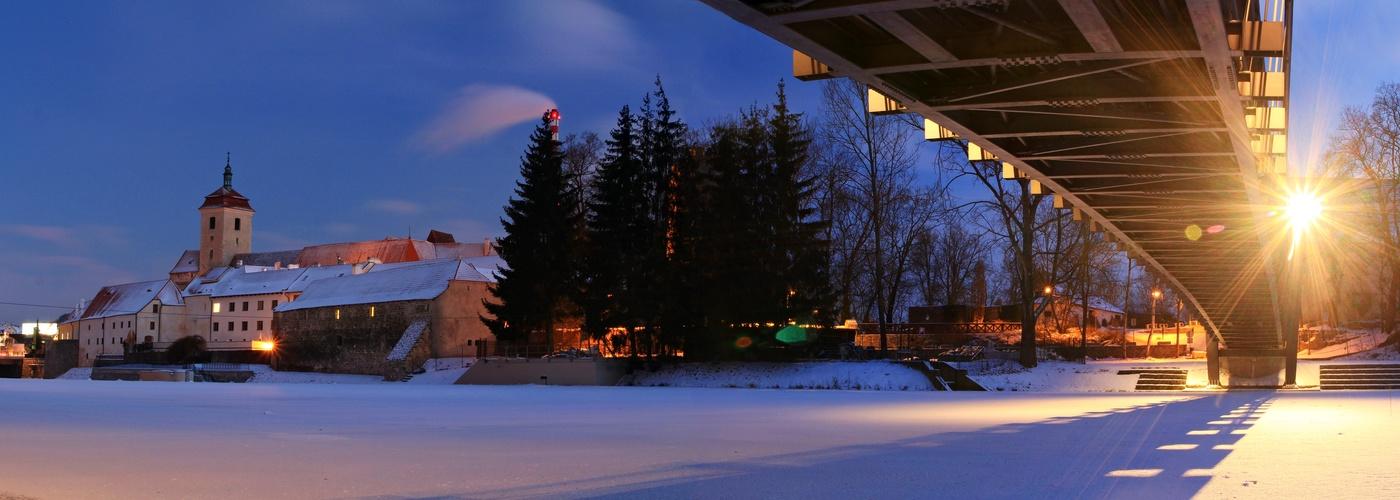 Zimní Strakonice