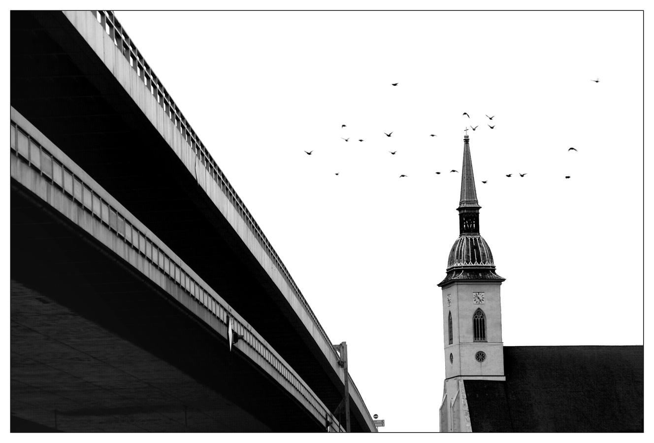čierne na bielom: most ku spáse