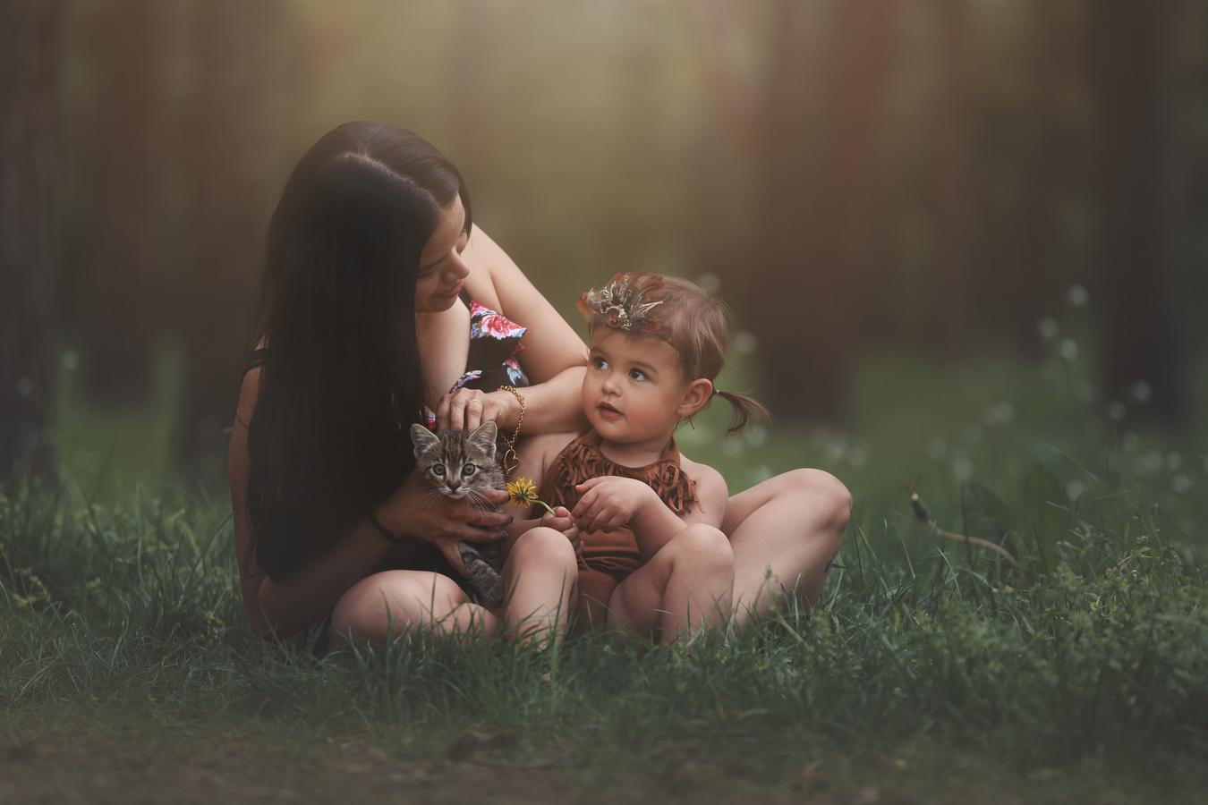Bella s maminkou