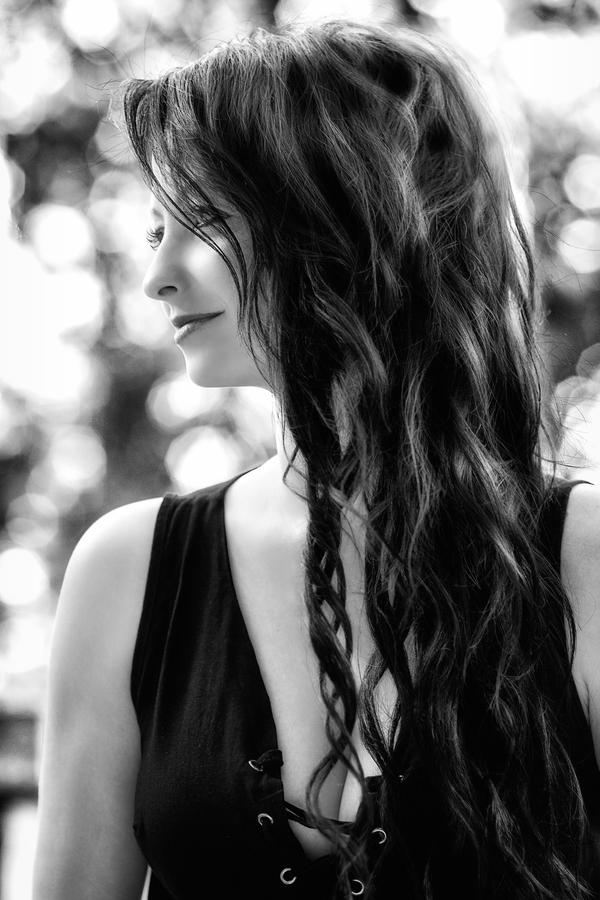 Dívka v černém