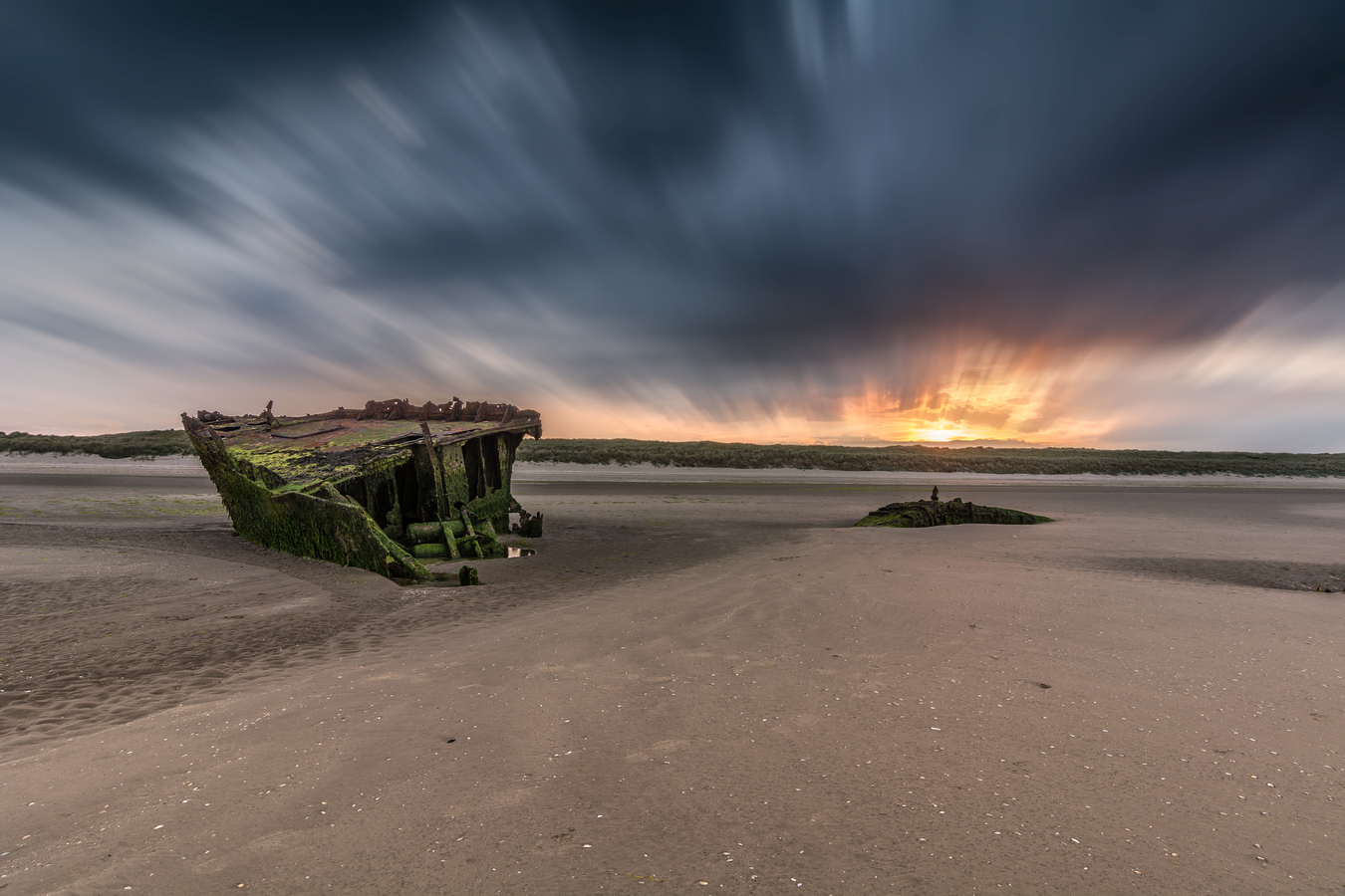 Baltray Shipwreck Sunset