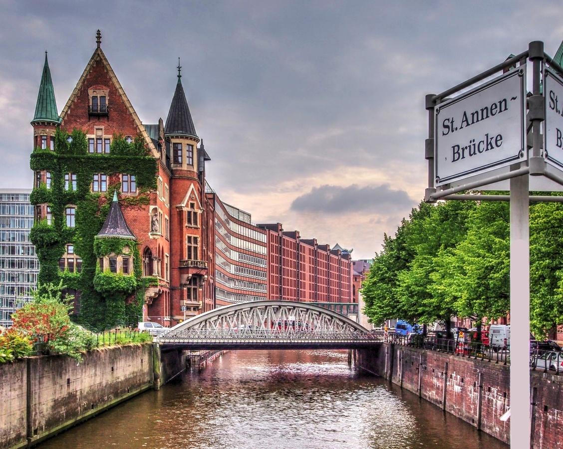 Hamburské kanály.