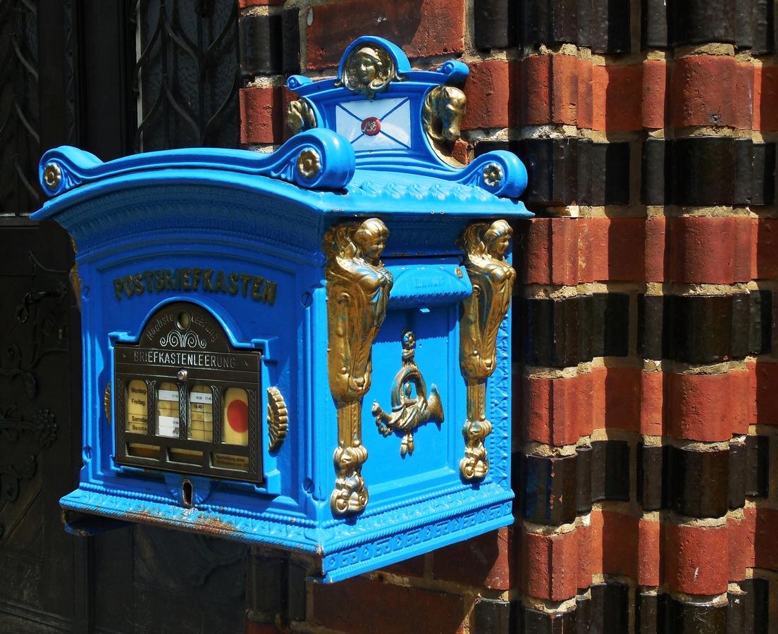 Poštovní schránka.