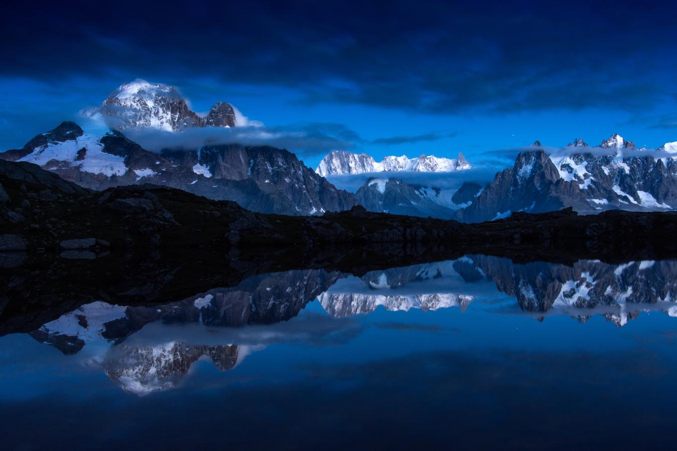 Soumrak v Alpách