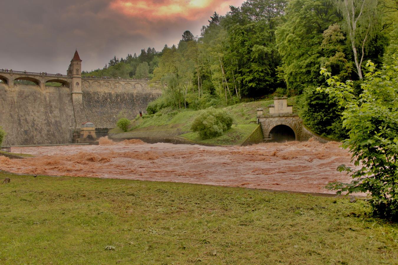 Hrozící záplavy