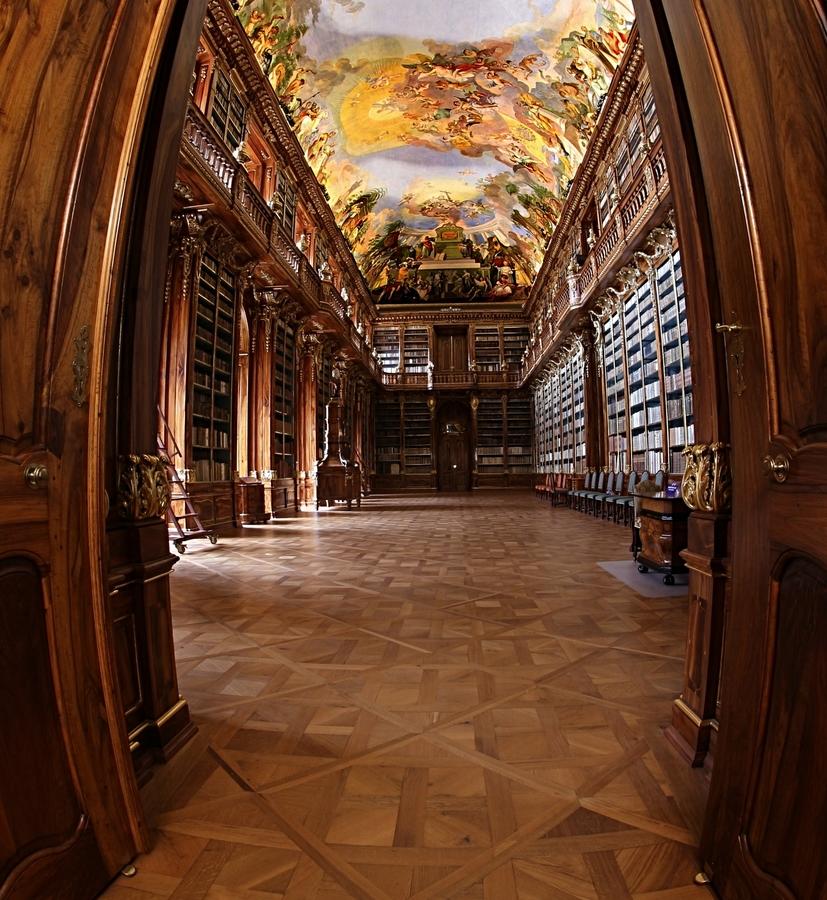 Vchod do Filozofického sálu