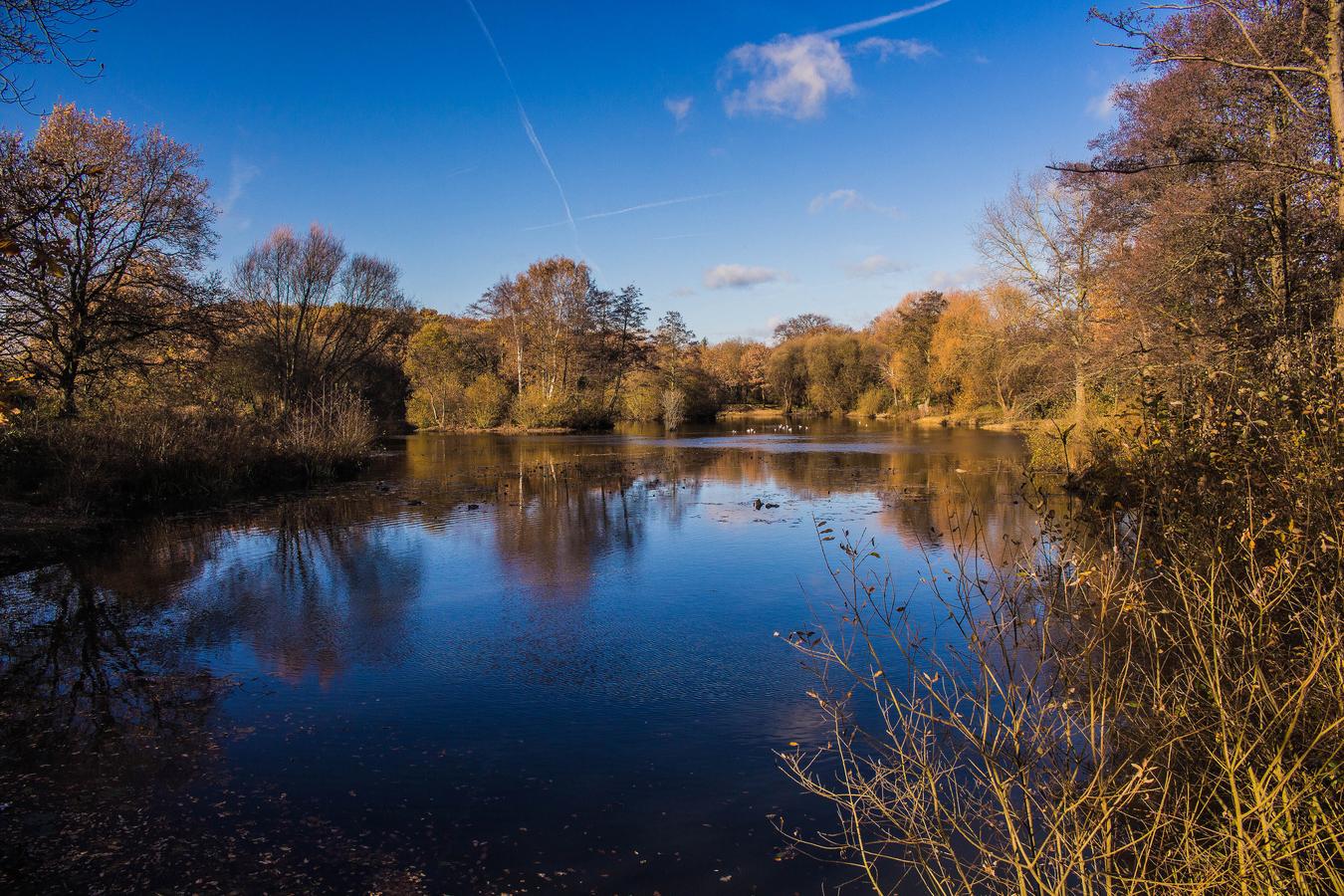 Podzimní Anglie