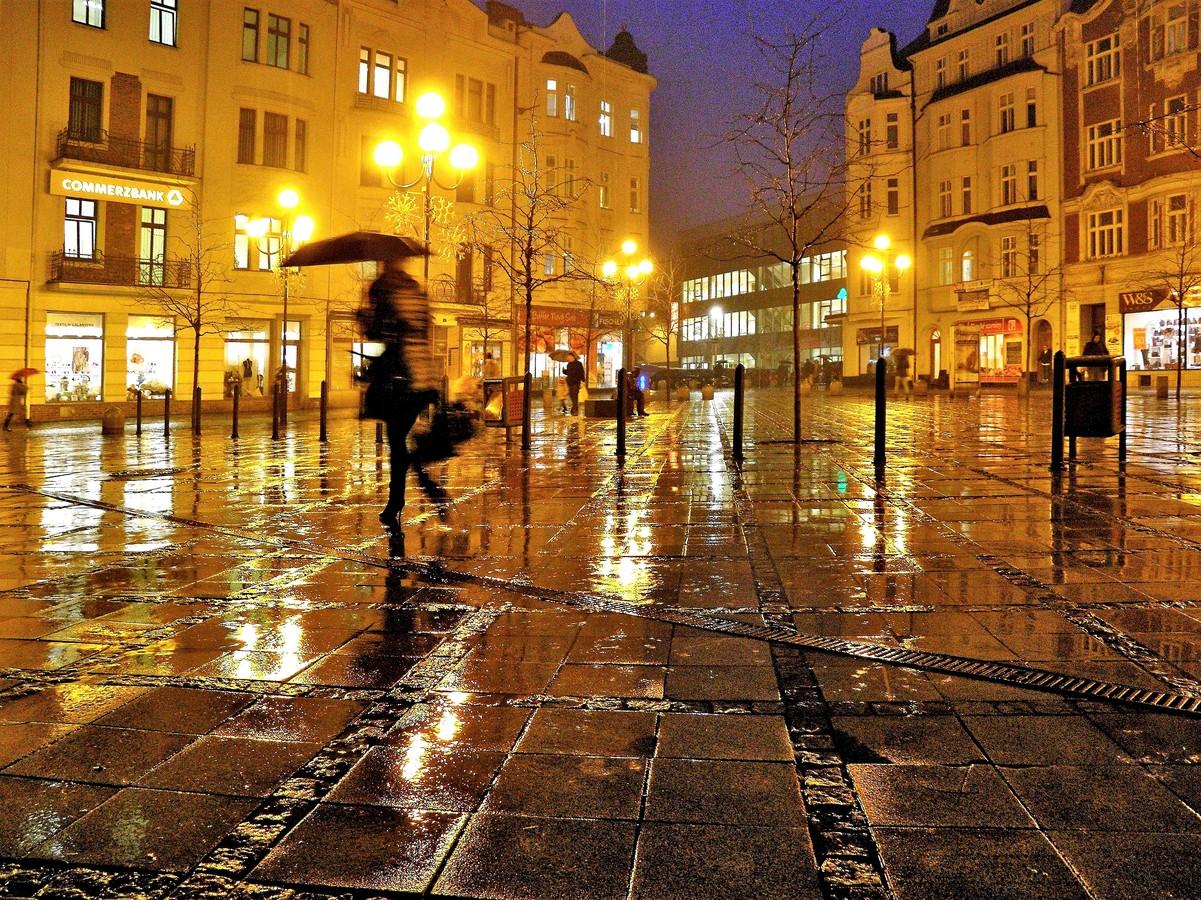 Za deště