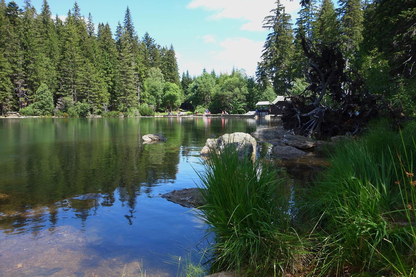 Černé jezero II